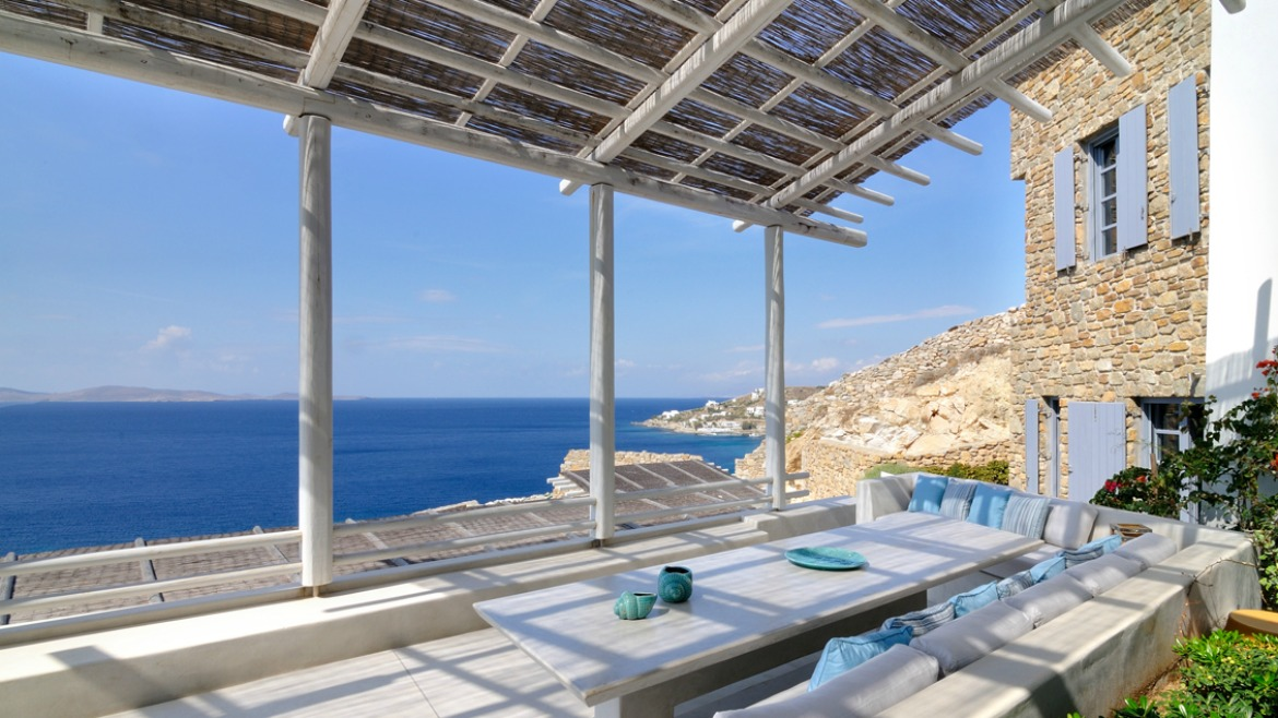 TWO STOREY RESIDENCE IN MYKONOS ISLAND