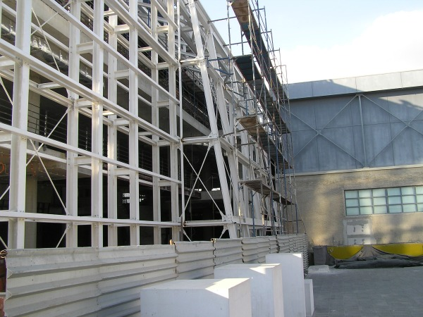 FOUNDATION OF THE HELLENIC WORLD – THEATRON BUILDING'S SUPERSTRUCTURE STEEL STRUCTURES