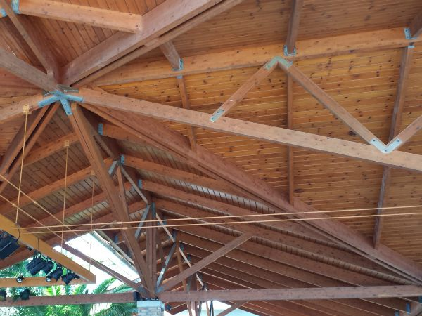 STRUCTURAL EVALUATION OF A WOODEN CANOPY ROOF IN THE IONIAN ISLANDS