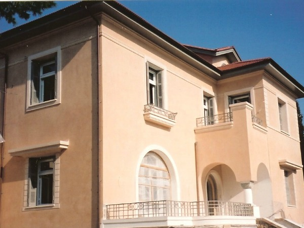 RESTORATION OF A LISTED BUILDING ON 13 DIONYSOY Str. IN KIFISIA