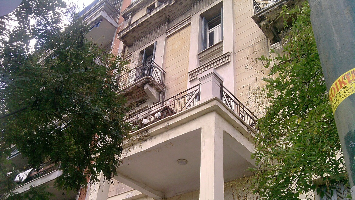 RENOVATION OF LISTED BUILDING ON DERIGNI 1 & MAVROMATEON ST., ATHENS